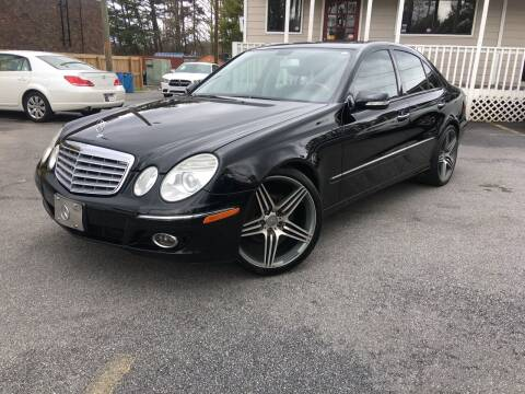 2007 Mercedes-Benz E-Class for sale at Georgia Car Shop in Marietta GA