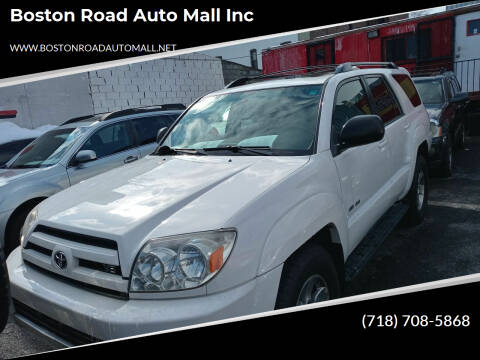 2004 Toyota 4Runner for sale at Boston Road Auto Mall Inc in Bronx NY