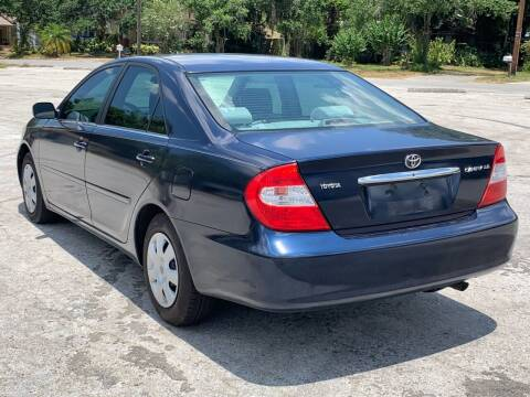 2002 Toyota Camry for sale at LUXURY AUTO MALL in Tampa FL