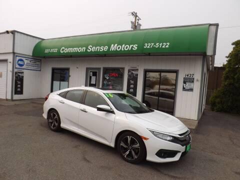 2016 Honda Civic for sale at Common Sense Motors in Spokane WA