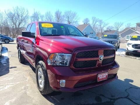2018 RAM Ram Pickup 1500 for sale at Shattuck Motors in Newport VT