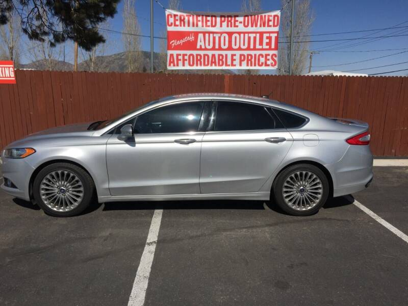 2014 Ford Fusion for sale at Flagstaff Auto Outlet in Flagstaff AZ