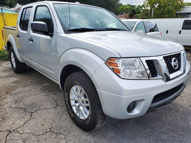 2014 Nissan Frontier for sale at H.A. Twins Corp in Miami FL