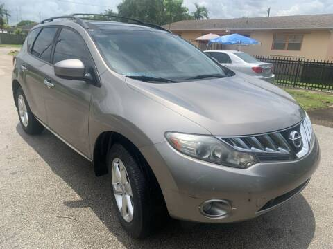 2010 Nissan Murano for sale at Eden Cars Inc in Hollywood FL