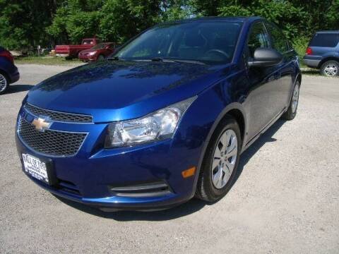 2012 Chevrolet Cruze for sale at HALL OF FAME MOTORS in Rittman OH