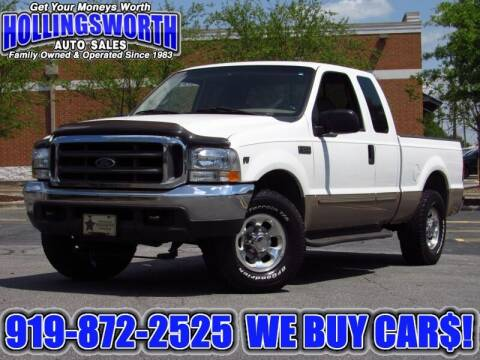 1999 Ford F-250 Super Duty for sale at Hollingsworth Auto Sales in Raleigh NC