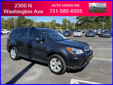 2016 Subaru Forester for sale at Auto Vision Inc. in Brownsville TN