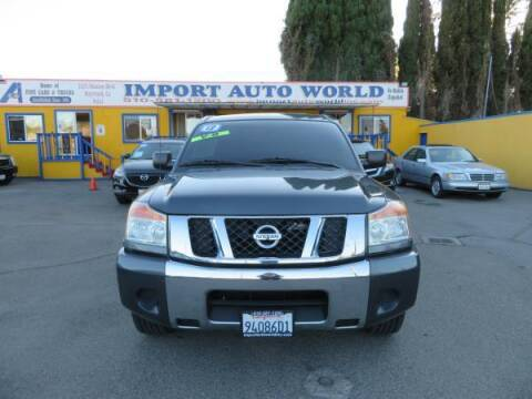 2012 Nissan Titan for sale at Import Auto World in Hayward CA