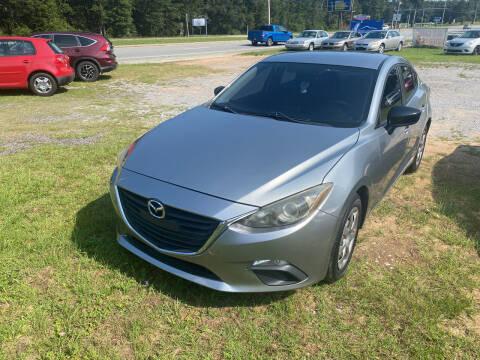 2014 Mazda MAZDA3 for sale at Nash's Auto Sales Used Car Dealer in Milton FL