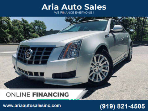 2013 Cadillac CTS for sale at ARIA  AUTO  SALES in Raleigh NC