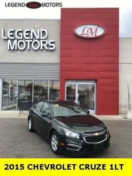 2015 Chevrolet Cruze for sale at Legend Motors of Ferndale in Ferndale MI