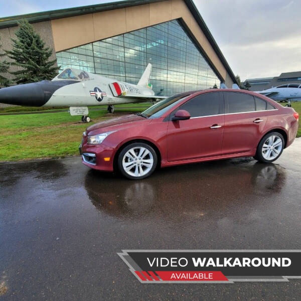 2016 Chevrolet Cruze Limited for sale at McMinnville Auto Sales LLC in Mcminnville OR