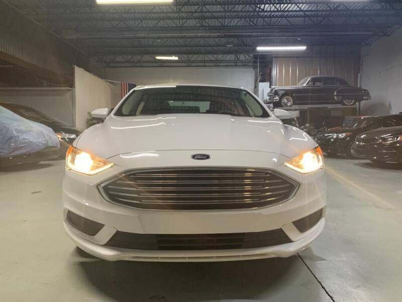 2018 Ford Fusion for sale at GROUP AUTO IMPORT & EXPORT in Newark NJ