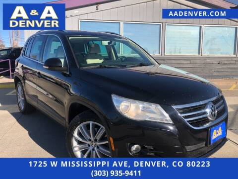 2011 Volkswagen Tiguan for sale at A & A AUTO LLC in Denver CO