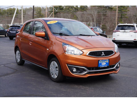 2018 Mitsubishi Mirage for sale at VILLAGE MOTORS in South Berwick ME