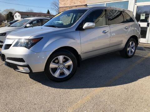 2012 Acura MDX for sale at Jose's Auto Sales Inc in Gurnee IL