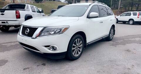 2015 Nissan Pathfinder for sale at North Knox Auto LLC in Knoxville TN