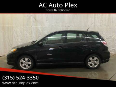 2008 Toyota Matrix for sale at AC Auto Plex in Ontario NY