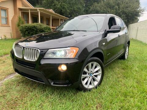 2013 BMW X3 for sale at CHECK  AUTO INC. in Tampa FL