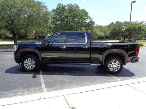2021 GMC Sierra 2500HD for sale at BALKCUM AUTO INC in Wilmington NC