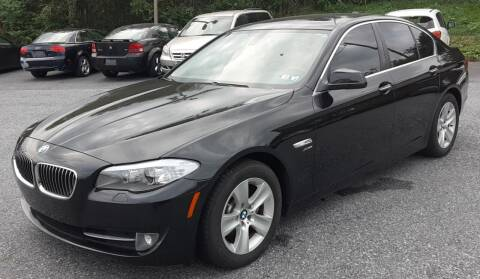 2012 BMW 5 Series for sale at Bik's Auto Sales in Camp Hill PA