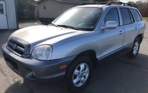 2005 Hyundai Santa Fe for sale at Elders Auto Sales in Pine Bluff AR