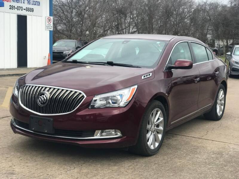 2015 Buick LaCrosse for sale at Discount Auto Company in Houston TX