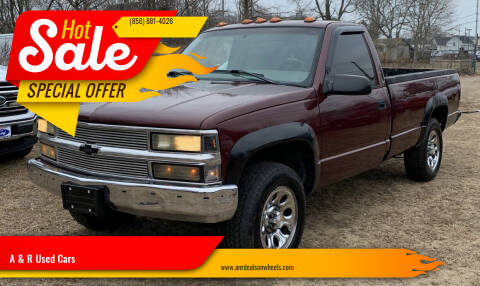 1998 Chevrolet C/K 1500 Series for sale at A & R Used Cars in Clayton NJ