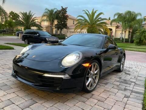 2015 Porsche 911 for sale at CHECK  AUTO INC. in Tampa FL