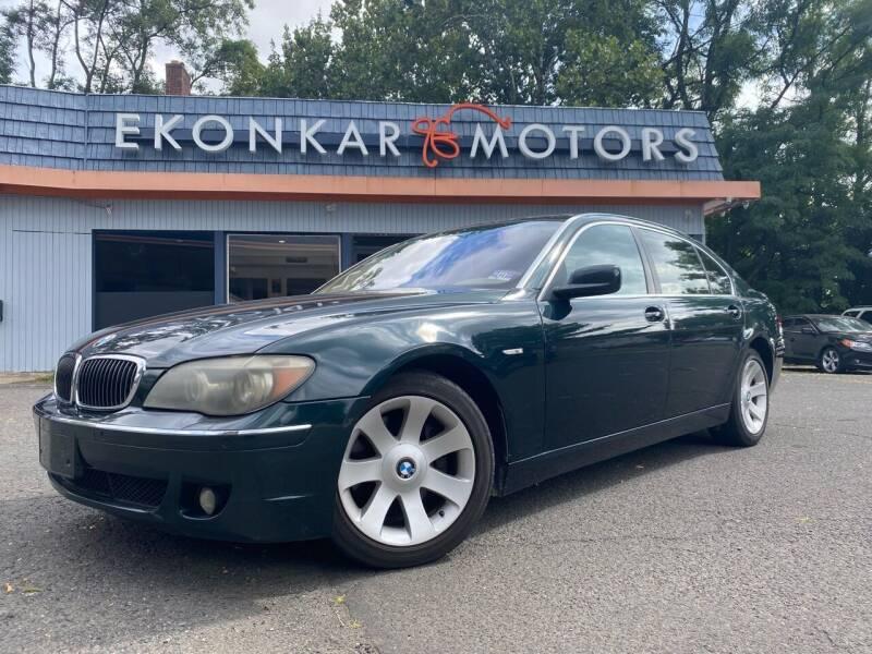 2006 BMW 7 Series for sale at Ekonkar Motors in Scotch Plains NJ