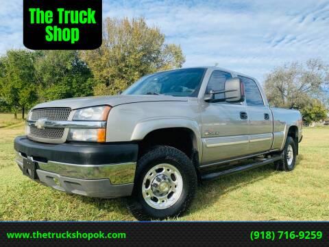 2003 Chevrolet Silverado 2500HD for sale at The Truck Shop in Okemah OK