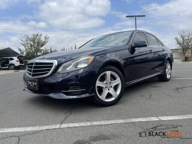 2016 Mercedes-Benz E-Class for sale at BLACK LABEL AUTO FIRM in Riverside CA