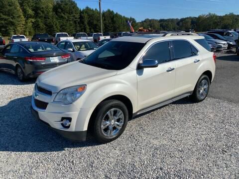 2015 Chevrolet Equinox for sale at Billy Ballew Motorsports in Dawsonville GA