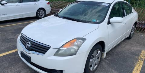 2007 Nissan Altima for sale at Trocci's Auto Sales in West Pittsburg PA