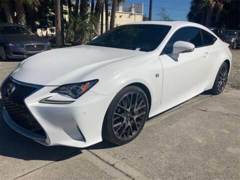 2017 Lexus RC 200t for sale at Florida Fine Cars - West Palm Beach in West Palm Beach FL