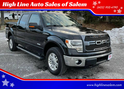 2014 Ford F-150 for sale at High Line Auto Sales of Salem in Salem NH