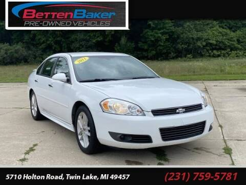 2011 Chevrolet Impala for sale at Betten Baker Preowned Center in Twin Lake MI