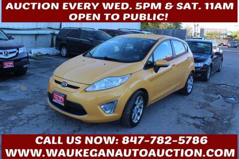 2011 Ford Fiesta for sale at Waukegan Auto Auction in Waukegan IL
