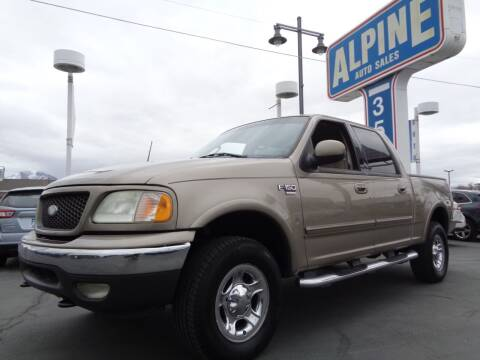 2003 Ford F-150 for sale at Alpine Auto Sales in Salt Lake City UT