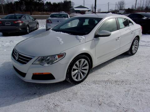 2012 Volkswagen CC for sale at DAVE KNAPP USED CARS in Lapeer MI
