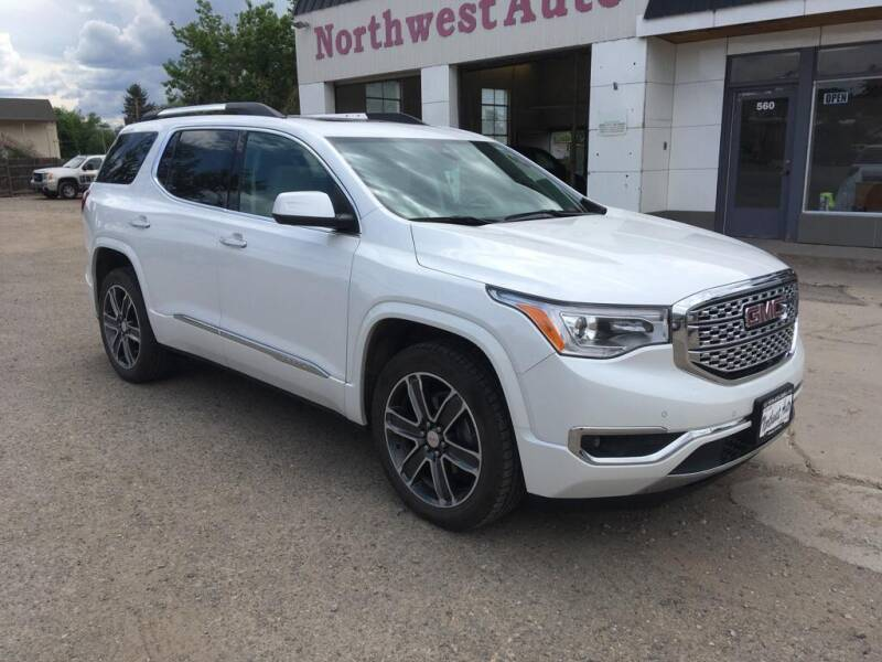 2018 GMC Acadia for sale at Northwest Auto Sales & Service Inc. in Meeker CO
