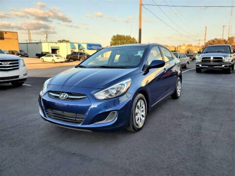 2016 Hyundai Accent for sale at Image Auto Sales in Dallas TX