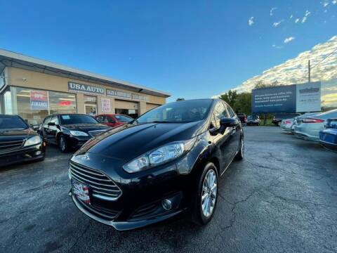 2014 Ford Fiesta for sale at USA Auto Sales & Services, LLC in Mason OH