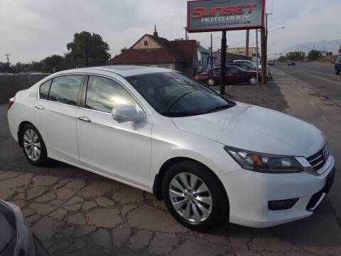 2014 Honda Accord for sale at Sunset Auto Body in Sunset UT