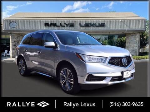 2018 Acura MDX for sale at RALLYE LEXUS in Glen Cove NY