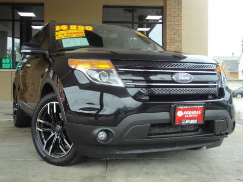2012 Ford Explorer for sale at Arandas Auto Sales in Milwaukee WI