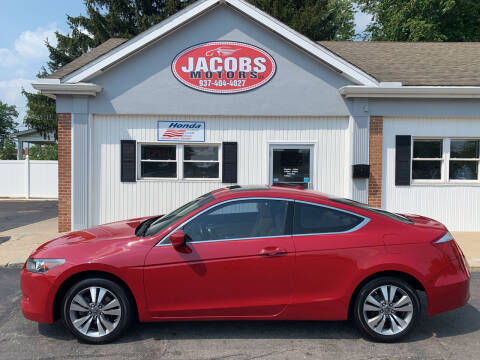 2008 Honda Accord for sale at Jacobs Motors LLC in Bellefontaine OH