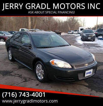 2012 Chevrolet Impala for sale at JERRY GRADL MOTORS INC in North Tonawanda NY