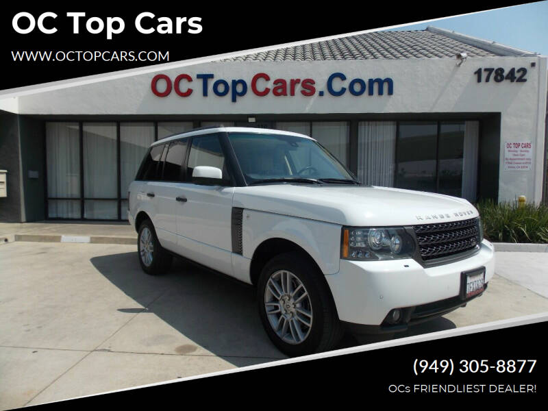 2011 Land Rover Range Rover for sale at OC Top Cars in Irvine CA