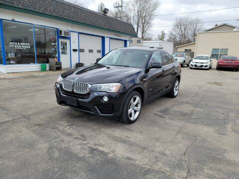 2016 BMW X4 for sale at MOE MOTORS LLC in South Milwaukee WI